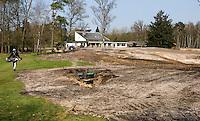 HILVERSUM - Veranderingen aan de baan  (hole 18) van Hilversumsche Golf Club. COPYRIGHT KOEN SUYK