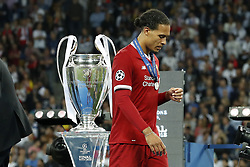 Virgil van Dijk of Liverpool FC during the UEFA Champions League final between Real Madrid and Liverpool on May 26, 2018 at NSC Olimpiyskiy Stadium in Kyiv, Ukraine