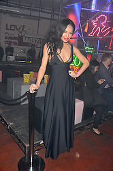 SARAH-JANE CRAWFORD at Club DNKY in celebration of #DKNYARTWORKS held at The Firestation, Lambeth High Street, London SE1 on 12th June 2013.