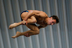 Tom Daley of Dive London Aquatic Centre competes in the Mens 10m Platform Final - Photo mandatory by-line: Rogan Thomson/JMP - 07966 386802 - 22/02/2015 - SPORT - DIVING - Plymouth Life Centre, England - Day 3 - British Gas Diving Championships 2015.