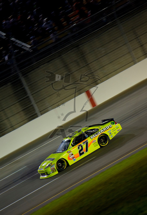 Sparta, KY - JUN 30, 2012: Paul Menard (27) during the Quaker State 400 at  Kentucky Speedway in Sparta, KY.