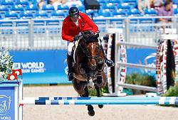 Muff Werner, SUI, Daimler<br /> World Equestrian Games - Tryon 2018<br /> © Hippo Foto - Dirk Caremans<br /> 19/09/18