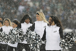 Philadelphia Eagles Cheerleaders perform during the NFL game between the Detroit Lions and the Philadelphia Eagles on Sunday, December 8th 2013 in Philadelphia. The Eagles won 34-20. (Photo by Brian Garfinkel)