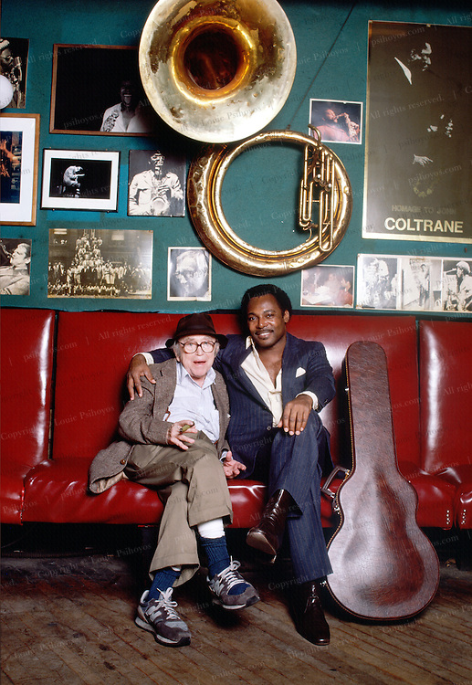 George Benson, guitarist and singer with Max Gordon at the Villiage Vanguard in New York City