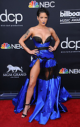Halsey at the 2019 Billboard Music Awards held at the MGM Grand Garden Arena in Las Vegas, USA on May 1, 2019.