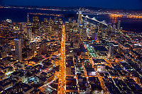 Market Street Illuminated, San Francisco