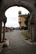 Pena National Palace entrance, Sintra, Portugal. PHOTO PAULO CUNHA/4SEE