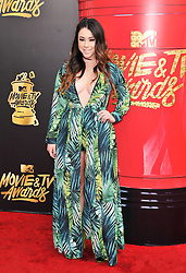Jillian Rose Reed at the 2017 MTV Movie And TV Awards held at The Shrine Auditorium on May 7, 2017 in Los Angeles, California.<br /><br />(Photo by Sthanlee Mirador) *** Please Use Credit from Credit Field ***