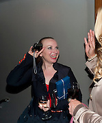 JUDITH OWEN, Press night for Ruby Wax- Losing it. Duchess theatre. London. 1 September 2011. <br /> <br />  , -DO NOT ARCHIVE-© Copyright Photograph by Dafydd Jones. 248 Clapham Rd. London SW9 0PZ. Tel 0207 820 0771. www.dafjones.com.
