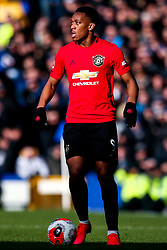 Anthony Martial of Manchester United - Mandatory by-line: Robbie Stephenson/JMP - 01/03/2020 - FOOTBALL - Goodison Park - Liverpool, England - Everton v Manchester United - Premier League