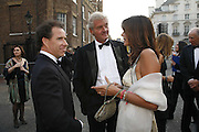 Viscount Linley, Count Leopold von Bismark AND Countess Debbie von Bismark. Ark Gala Dinner, Marlborough House, London. 5 May 2006. ONE TIME USE ONLY - DO NOT ARCHIVE  © Copyright Photograph by Dafydd Jones 66 Stockwell Park Rd. London SW9 0DA Tel 020 7733 0108 www.dafjones.com