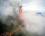 Pu'u O'o Vent, Kilauea Volcano, HVNP, Island of Hawaii