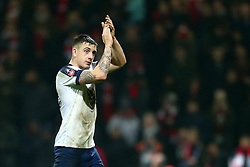 Jordan Hugill of Preston North End applauds the fans - Mandatory by-line: Matt McNulty/JMP - 07/01/2017 - FOOTBALL - Deepdale - Preston, England - Preston North End v Arsenal - Emirates FA Cup third round