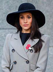 Prince Harry and Meghan Markle attend an Anzac Day Dawn Service at Wellington Arch, Hyde Park Corner, London, UK, on the 25th April 2018. Picture by Tolga Akmen/WPA-Pool. 25 Apr 2018 Pictured: Meghan Markle. Photo credit: MEGA TheMegaAgency.com +1 888 505 6342