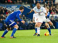 Football - 2016 / 2017 Championship - Cardiff City vs. Aston Villa<br /> <br /> Gabby Agbonlahor of Aston Villa shoots at goal --, at Cardiff City Stadium.<br /> <br /> COLORSPORT/WINSTON BYNORTH