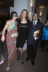 Left to right, ISABELLA BLOW, JERRY HALL and MAHARAJA OF KAPURTHALA at the Lighthouse Gala Auction in aid of the Terence Higgins Trust held at Christie's, St.James's, London on 12th March 2007.<br /><br />NON EXCLUSIVE - WORLD RIGHTS