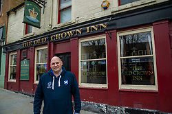 Owner of the Old Crown Inn in Penicuik, Jimmy Martin is pleased that a degree of uncertainty has been clarified with the closure of all pubs.  He can plan ahead knowing where he stands.  The beer in his cellar has about a six-week shelf life.  Sadly, his insurance does not cover closure of his business due to the Coronavirus<br /> <br /> With government advice being followed, normal Saturdays in Penicuik have been put on hold with pubs and major shops closing to manage social interaction.