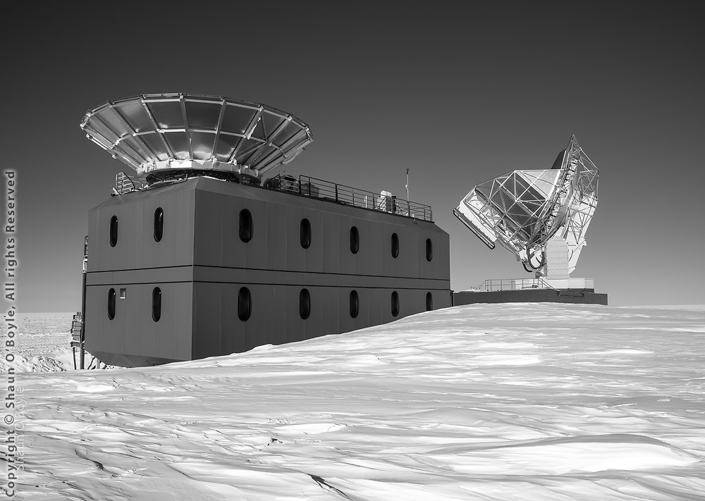 Dark Sector Lab, Bicep3 and South Pole telescopes
