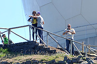 20110523: FUNCHAL, MADEIRA ISLAND, PORTUGAL - Portuguese football star Cristiano Ronaldo takes his girlfriend Irina Shayk to visit Pico do Areeiro, one of the most beautiful sites of Madeira Island. Also Pictured: Ronaldo's father-in-law Andrade. PHOTO: CITYFILES