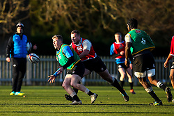 Ollie Fox of England Under 20s - Mandatory by-line: Robbie Stephenson/JMP - 08/01/2019 - RUGBY - Bisham Abbey National Sports Centre - Bisham Village, England - England Under 20s v  - England Under 20s Training