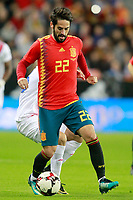 Spain's Isco Alarcon during international friendly match. November 11,2017.(ALTERPHOTOS/Acero)