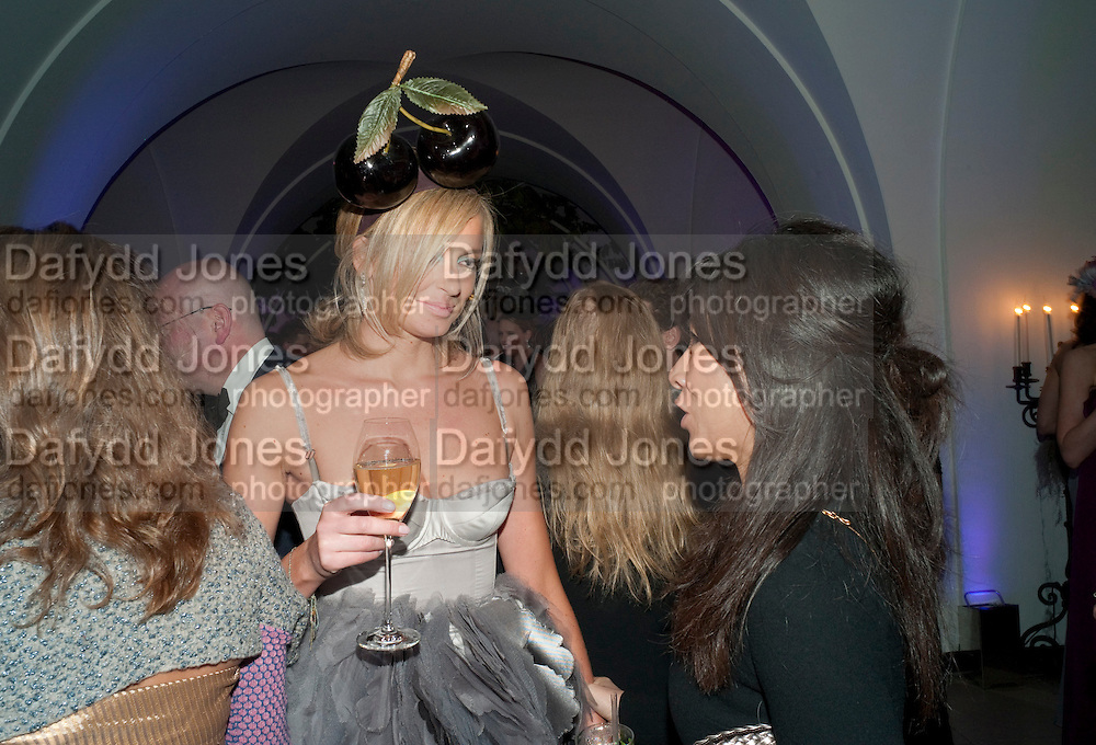 BODIL BLAIN , The Surrealist Ball in aid of the NSPCC. Hosted by Lucy Yeomans and Harry Blain. Banqueting House. Whitehall. 17 March 2011. -DO NOT ARCHIVE-© Copyright Photograph by Dafydd Jones. 248 Clapham Rd. London SW9 0PZ. Tel 0207 820 0771. www.dafjones.com.