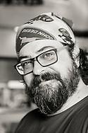 Troy Harris, kock på Cascade Brewings krog The Barrel House i Portland, Oregon. <br /> Foto: Christina Sjögren