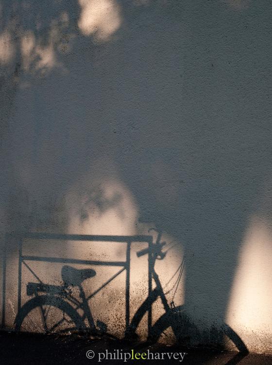 Shadows in Valence, in the Drôme region, France