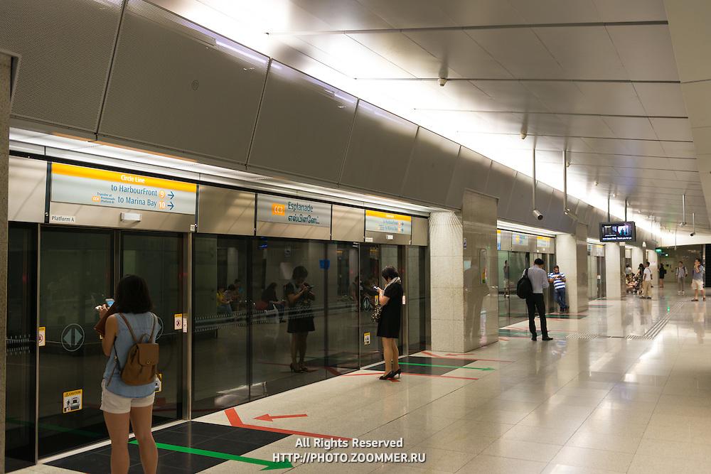 Esplanade Subway Station, Singapore