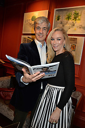 ***UK_MAGAZINES_OUT***<br /> LONDON, ENGLAND 30 NOVEMBER 2016: <br /> Dominic Elias, Carson Elias at the launch of In The Spirit of Gstaad at Maison Assouline, Piccadilly, London hosted by Mandolyna Theodoracopulos and Homera Sahni England. 30 November 2016.