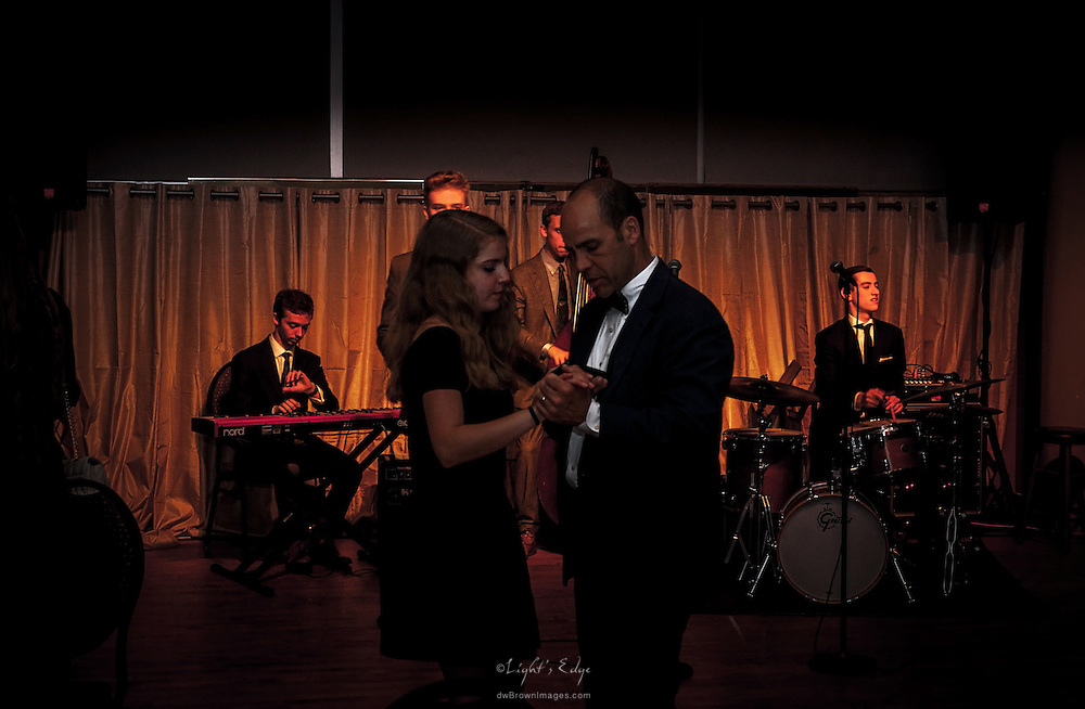 Live jazz and dancing in the Loft durig the After-Party of the SOPAC 2015 Gala.