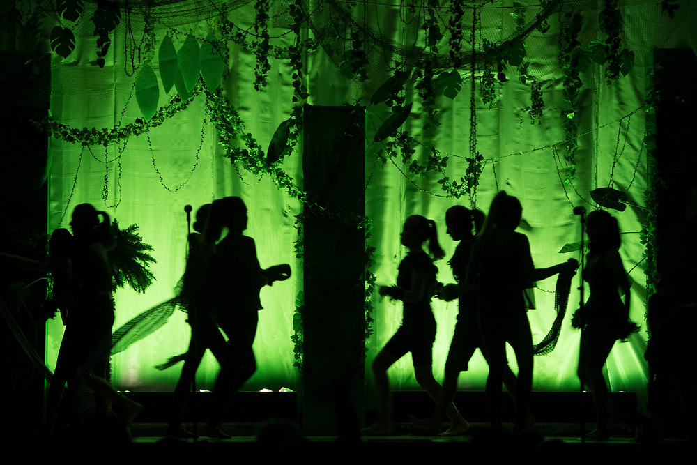 """""""The Jungle Book"""" presented by the Drama Dept. at McPherson Magnet Elementary School in Orange, CA on Wednesday, May 31, 2017. (Photo by Kevin Sullivan, www.sulliphoto.com)"""