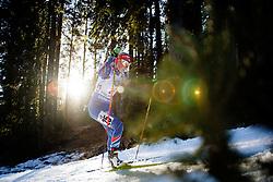 Eva Puskarcikova (CZE) during Women 12.5 km Mass Start at day 4 of IBU Biathlon World Cup 2015/16 Pokljuka, on December 20, 2015 in Rudno polje, Pokljuka, Slovenia. Photo by Ziga Zupan / Sportida