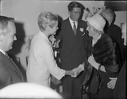 15/06/1961<br /> 06/15/1961<br /> 15 June 1961<br /> <br /> A Royal Visit to Ireland by Princess Grace and Prince Rainier of Monaco. The royal couple at Westport, Co. Mayo.Princess Grace was meeting her relatives.