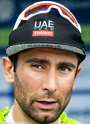 Diego Ulissi (ITA) of UAE Team Emirates in Green jersey as best overall rider at trophy ceremony after the 4th Stage of 26th Tour of Slovenia 2019 cycling race between Nova Gorica and Ajdovscina (153,9 km), on June 22, 2019 in Slovenia. Photo by Vid Ponikvar / Sportida