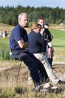 DEN DOLDER - NGF voorzitter Ronald Pfeiffer tijdens het NK Strokeplay golf op Golfsocieteit  De Lage Vuursche. COPYRIGHT KOEN SUYK