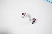 Shaun White, USA, on this final, and winning run, of the Pyeongchang Winter Olympic mens snowboard halfpipe finals on 14th February 2018 at Phoenix Snow Park in South Korea