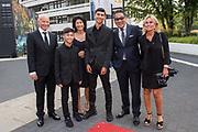 Gala Voetballer van het Jaar 2018 bij Studio 21 in Hilversum.<br /> <br /> Op de foto: Won Yip met familie