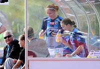 Fotball<br /> 4. September 2010<br /> Toppserien<br /> Arna Idrettspark<br /> Arna Bjørnar v Stabæk 7 - 0<br /> To bergensere tilbake i Bergen , Lise Klaveness (2R) og Ingrid Camilla Fosse Sæthre (R) , Stabæk<br /> Foto: Astrid M. Nordhaug