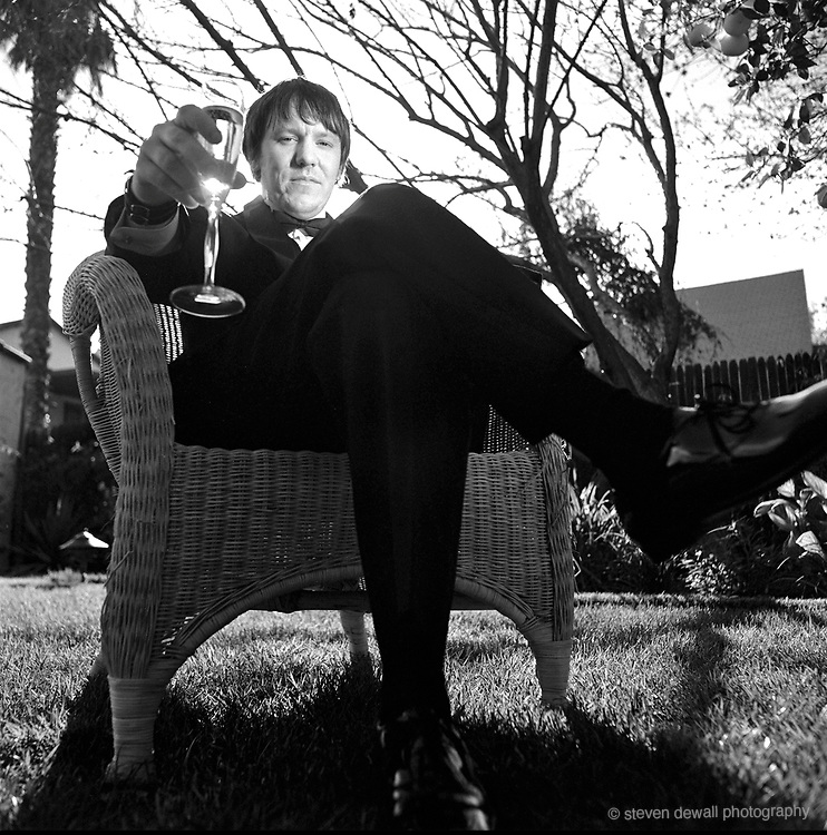 Elliott Smith photographed in Silverlake, CA