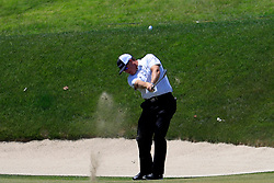 June 21, 2018 - Cromwell, CT, U.S. - CROMWELL, CT - JUNE 21: D.A. Points of the United States hits from the 17th fairway during the First Round of the Travelers Championship on June 21, 2018, at TPC River Highlands in Cromwell, Connecticut. (Photo by Fred Kfoury III/Icon Sportswire) (Credit Image: © Fred Kfoury Iii/Icon SMI via ZUMA Press)