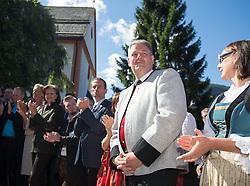 17.08.2014, Kongress, Alpbach, AUT, Forum Alpbach, Tiroltag, im Bild BM Andrä Rupprechter // during the tyrol Day of European Forum Alpbach at the Congress in Alpach, Austria on 2014/08/17. EXPA Pictures © 2014, PhotoCredit: EXPA/ Johann Groder