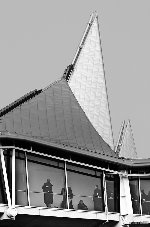 European Law Courts designed by architect Richard Rogers, Antwerp, Belgium, Europe