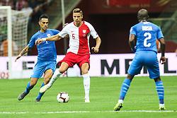 June 10, 2019 - Warsaw, Poland - Jan Bednarek of Poland during the UEFA Euro 2020 qualifier Group G football match Poland against Israel on June 10, 2019 in Warsaw, Poland. (Credit Image: © Foto Olimpik/NurPhoto via ZUMA Press)