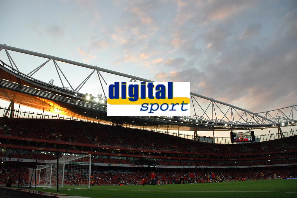 Photo: Tony Oudot.<br /> Arsenal v Sparta Prague. UEFA Champions League Qualifying. 29/08/2007.<br /> Emirates Stadium