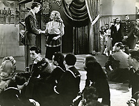 1944 Bette Davis & Robert Hutton in the movie Hollywood Canteen