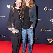 NLD/Hilversum/20170119 - Start inloop 11de Radio Gala 2016, Eva Koreman en partner .......