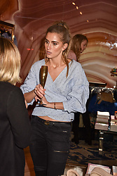 Jessica Bradley at the Seren London Launch Party held at Baar And Bass, 336 Kings Road, London England. 26 April 2017.