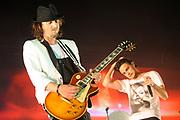 Het Singles Only concert van Kane in een uitverkocht Ahoy<br /> <br /> Op de foto: <br />  Dinand Woesthoff en Dennis van Leeuwen