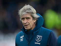 West Ham United manager Manuel Pellegrini - Mandatory by-line: Jack Phillips/JMP - 30/12/2018 - FOOTBALL - Turf Moor - Burnley, England - Burnley v West Ham United - {event}